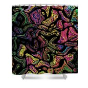 Prominent Entanglements Shower Curtain
