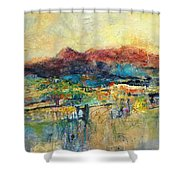 Promise Of Gold Shower Curtain