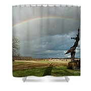 Promise To Gettysburg Shower Curtain