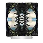 Promontory Pass Shower Curtain