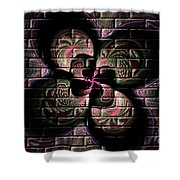 Propel Into The Future Shower Curtain