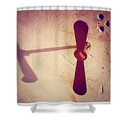 Propeller Shower Curtain