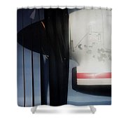 Propellers  Shower Curtain