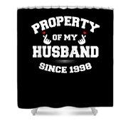 Propertyhusband 1998 Shower Curtain