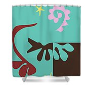 Prosperity - Celebrate Life 1 Shower Curtain
