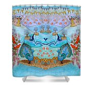 Prosperity And Blessing Shower Curtain