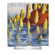 Protea Madida Shower Curtain
