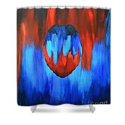 Protect And Serve Shower Curtain by Herschel Fall