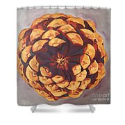 Protected Shower Curtain