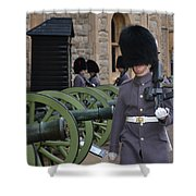 Protecting The Tower Of London Shower Curtain