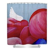 Protection Detail Shower Curtain