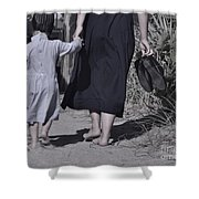 Protective Hand Shower Curtain