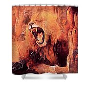Protector Of The Realm Shower Curtain