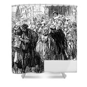 Protestant Reformation Shower Curtain