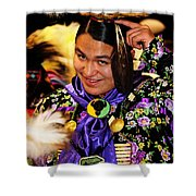 Proud Native Son Shower Curtain