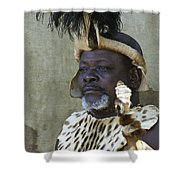 Proud Zulu Shower Curtain
