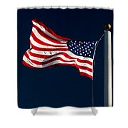 Proudly I Wave Shower Curtain