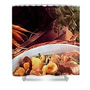 Provence Kitchen Stew Shower Curtain