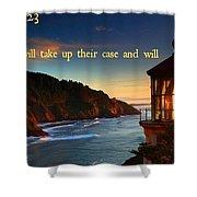 Proverbs118 Shower Curtain