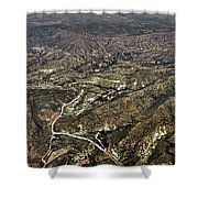 Province Of Alicante Shower Curtain
