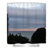 Provincetown At Dusk Shower Curtain