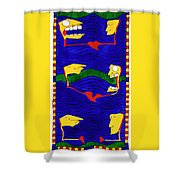 Proving Ground Shower Curtain