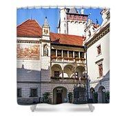 Pruhonice Castle Architecture Shower Curtain