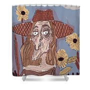 Pruning Prudence. Shower Curtain