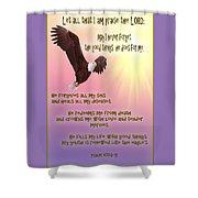 Psalm 103 Shower Curtain