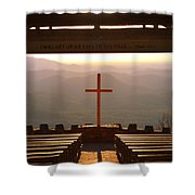 Psalm 121 1 I Will Lift My Eyes To The Hills Shower Curtain
