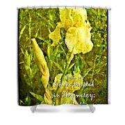 Psalm 13 5 Shower Curtain