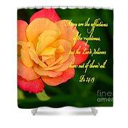 Psalm 34 V 19 Shower Curtain