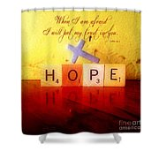Psalm 56 3 Shower Curtain