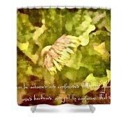 Psalm 70 2 Shower Curtain