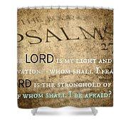Psalms102 Shower Curtain
