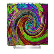 Pscholdelic Surfs Up Shower Curtain