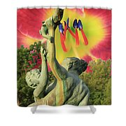 Psp6734 Shower Curtain