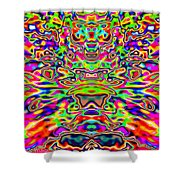 Psychedelia Shower Curtain