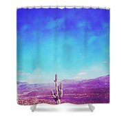 Psychedelic Arizona Shower Curtain