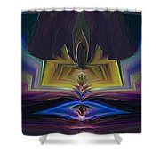 Psychedelic Dream  Shower Curtain