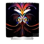 Psychedelic Dreams Shower Curtain