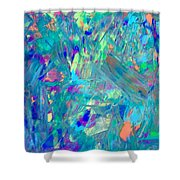 Psychedelic  Haze Shower Curtain