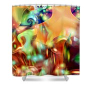 Psychedelic Xperiment Shower Curtain