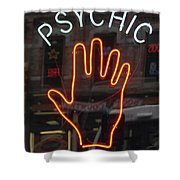Psychic Readings Shower Curtain