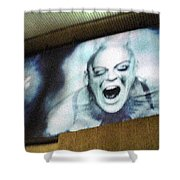 Psychosis - Bad Sign Shower Curtain
