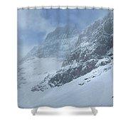 Ptarmigan Lake - Glacier National Park Shower Curtain