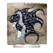 Pterois Volitans Shower Curtain