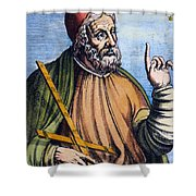 Ptolemy (2nd Century A.d.) Shower Curtain