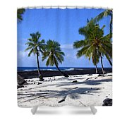 Pu Uhonua O Honaunau Shower Curtain