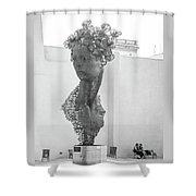 Havana Sculpture Shower Curtain